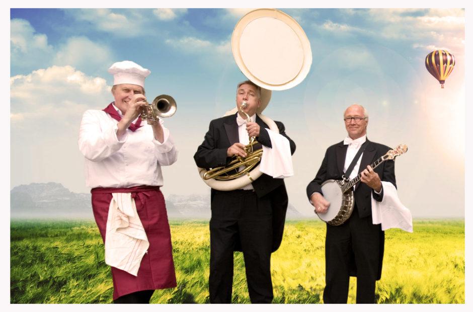 Dixieland Koksorkest, ober orkest of culinair orkest